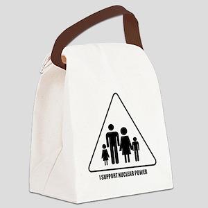 Nuclear Power Canvas Lunch Bag