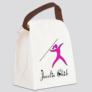 Javelin chick Canvas Lunch Bag