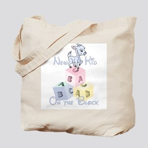 Boy New Kid on the Block Tote Bag