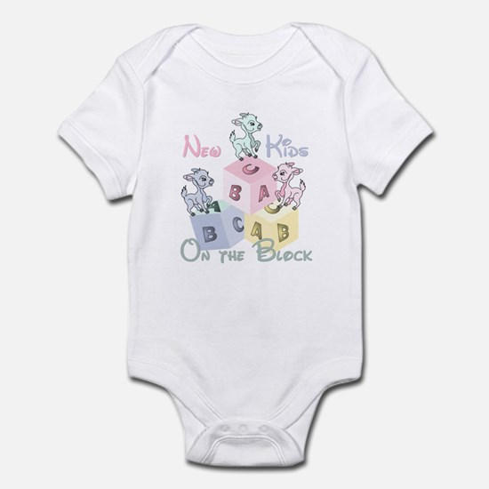 Triplet New Kid on the Block Infant Bodysuit
