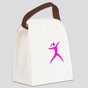 Javelin Chick White Canvas Lunch Bag