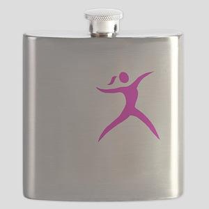 Javelin Chick White Flask