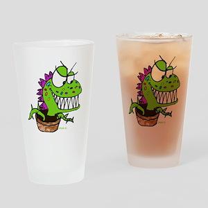 Little Shop Plant Drinking Glass