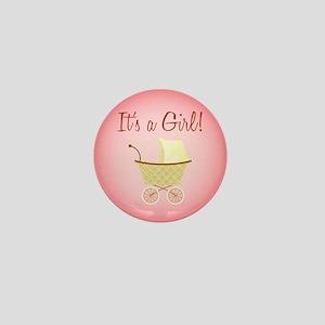 It's A Girl! - Mini Button