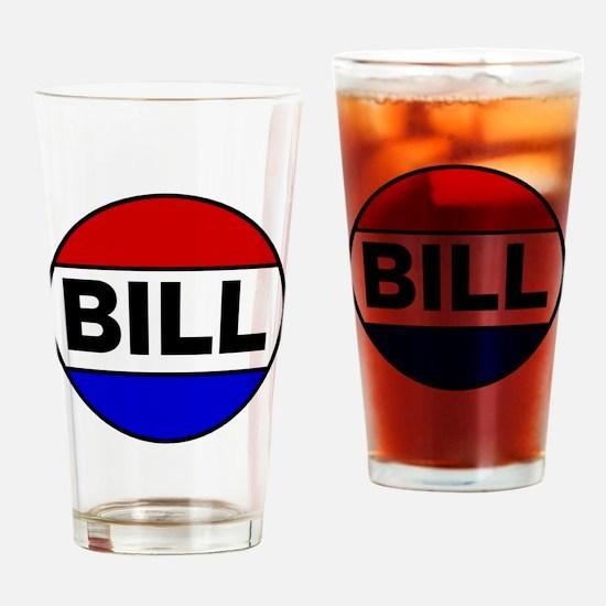 bill Drinking Glass