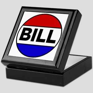 bill Keepsake Box