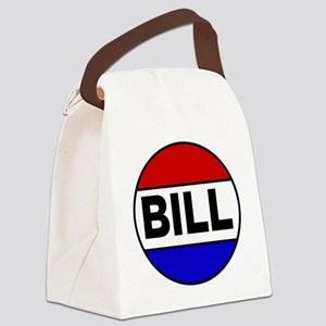 bill Canvas Lunch Bag