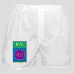 Level 42 London Dec 90 Boxer Shorts