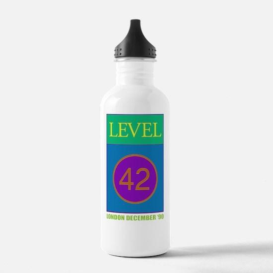 Level 42 London Dec 90 Water Bottle