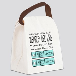 Classic Level4286 back Canvas Lunch Bag