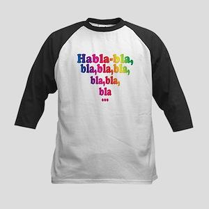 Habla,bla,bla,bla... Kids Baseball Jersey