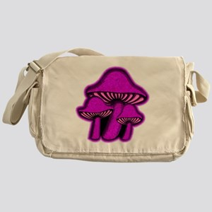 PurpShrooms Messenger Bag