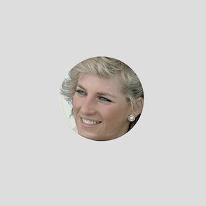 HRH Princess Diana Australia Mini Button