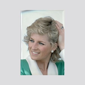 HRH Princess Diana Australia Rectangle Magnet