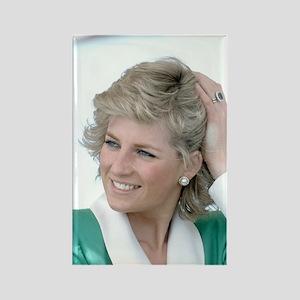HRH Princess Diana Australia Rectangle Magnet