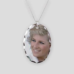 HRH Princess Diana Australia Necklace Oval Charm
