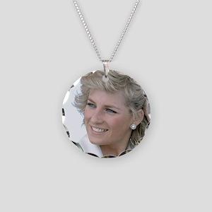 HRH Princess Diana Australia Necklace Circle Charm