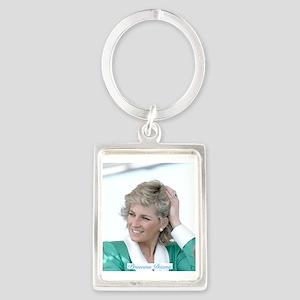 HRH Princess Diana Australia Portrait Keychain