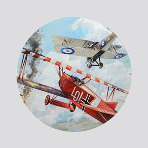 Fokker Round Ornament