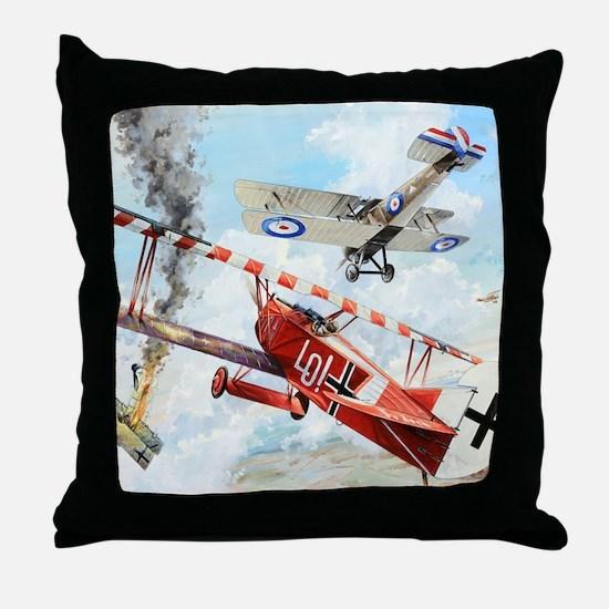 Fokker Throw Pillow