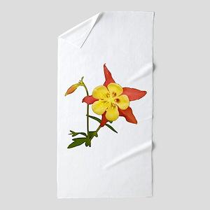 Columbine Beach Towel