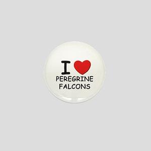 I love peregrine falcons Mini Button