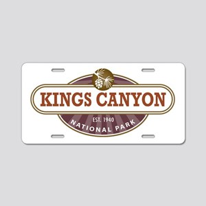 Kings Canyon National Park Aluminum License Plate
