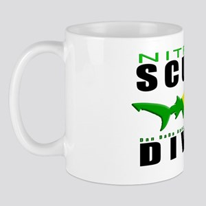 Scuba Diver Shark NITROX 6.5x10 4BLKCLR Mug