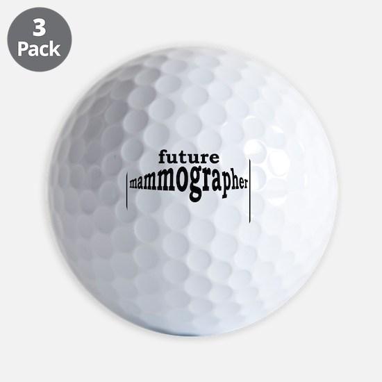 future mammographer Golf Ball