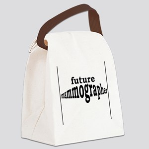 future mammographer Canvas Lunch Bag