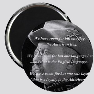 teddy_roosevelt_QUOTE_big Magnet