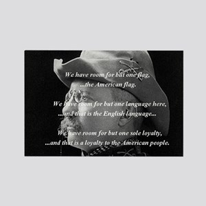 teddy_roosevelt_QUOTE_big Rectangle Magnet