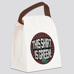 this_shirt_green_1 Canvas Lunch Bag