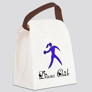 Discus Chick Canvas Lunch Bag