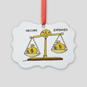 debt Picture Ornament