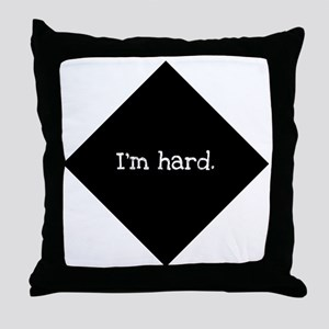 hard Throw Pillow