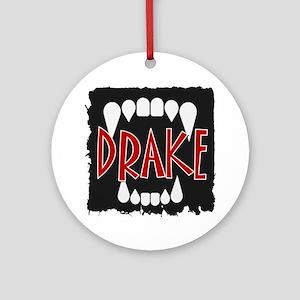 Drake Round Ornament