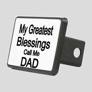 My Greatest Blessings call me DAD Hitch Cover