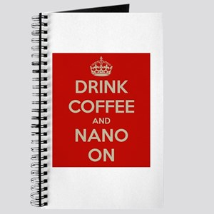 Drink Coffee and Nano On Journal