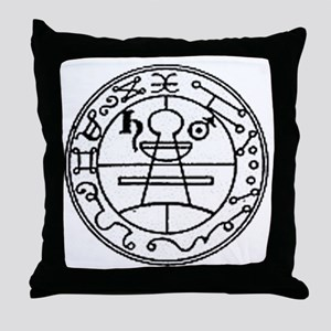 secret seal of solomon Throw Pillow