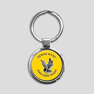 TX-081 Round Keychain