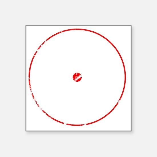 """PWCred Square Sticker 3"""" x 3"""""""