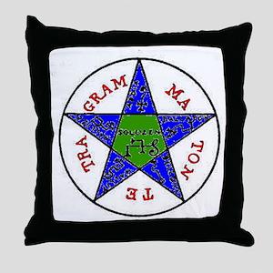penta solomon Throw Pillow