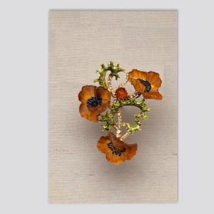 poppy-necklace2 Postcards (Package of 8)