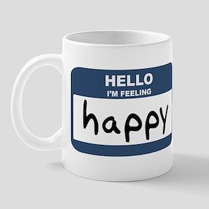 Feeling happy Mug