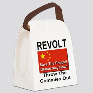 revolt_china Canvas Lunch Bag