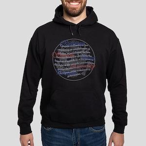 1st Amendment Hoodie (dark)