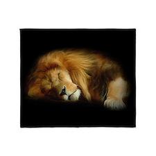 Sleeping Lion Blanket