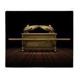 Ark of the covenant Fleece Blankets