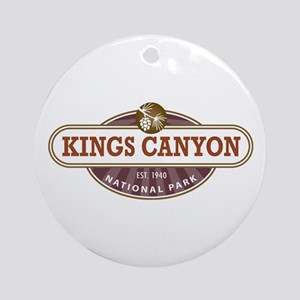 Kings Canyon National Park Ornament (Round)